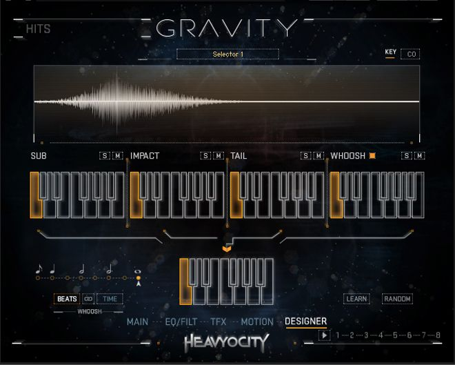 Gravity Kontakt Library