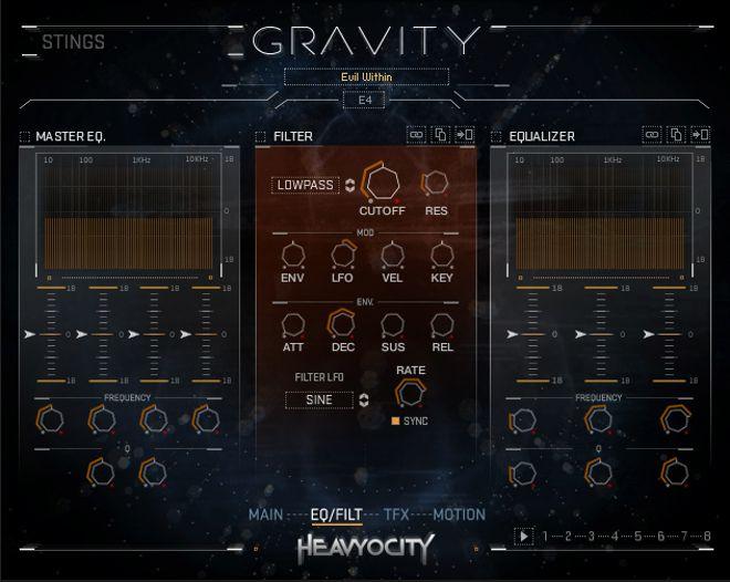 Gravity Kontakt