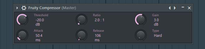 FL Studio Compressor