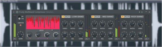 FL Studio Multiband Compressor