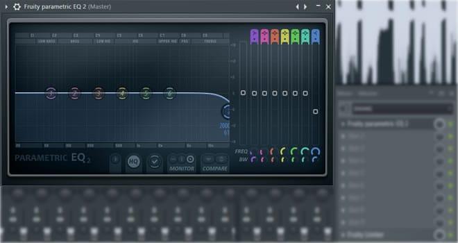 FL Studio EQ