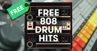 FREE 808 DRUM HITS – FREE Sample Pack by SampleMagic