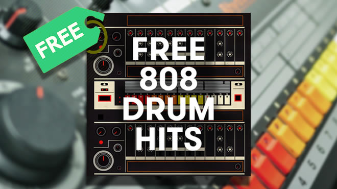 FREE 808 DRUM HITS FREE Sample Pack
