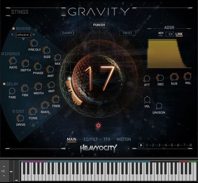 Gravity Kontakt Instrument