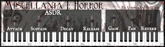 Miscellania I Horror VST Plugin