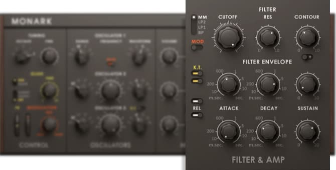 Monark Synthesizer Filters