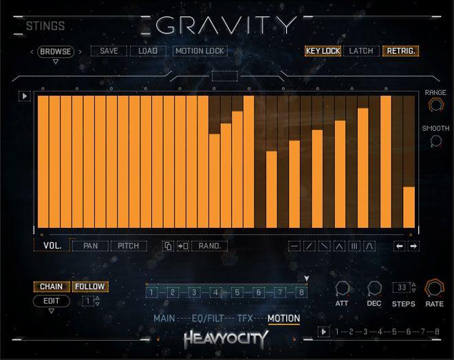 Motion Gravity Kontakt Instrument