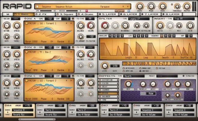 RAPID Synthesizer Plugin