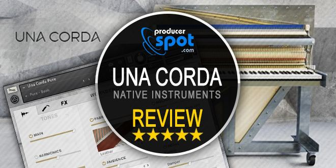 Review UNA CORDA Kontakt Instrument