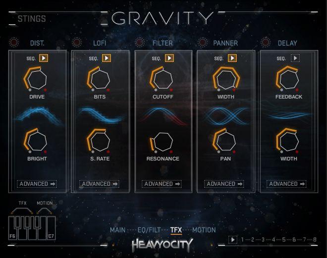 TFX Gravity Kontakt Instrument