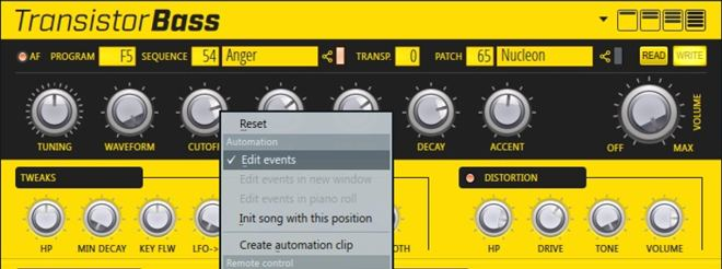 Transistor Bass FL Studio Synth