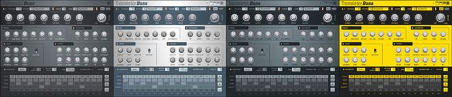 Transistor Bass subtractive synthesizer plugin