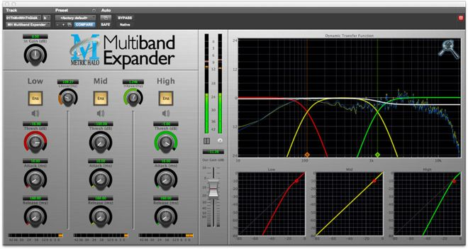 MH Multiband Expander Plugin