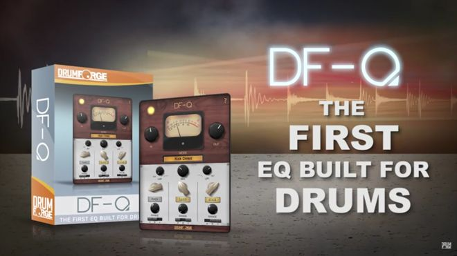 DF-Q Equalizer Plugin for Drums