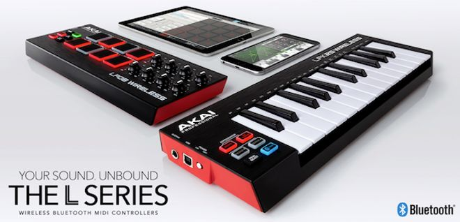 lpk25 and lpd8 wireless midi controllers by akai producerspot. Black Bedroom Furniture Sets. Home Design Ideas