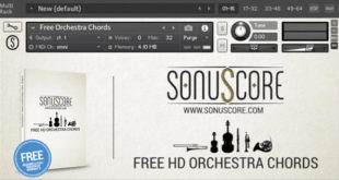 FREE HD Orchestra Chords Kontakt Instrument by SonuScore