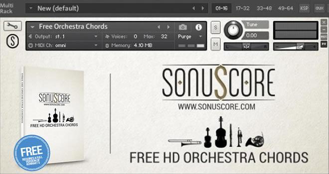 FREE HD Orchestra Chords Kontakt Instrument by SonuScore • ProducerSpot