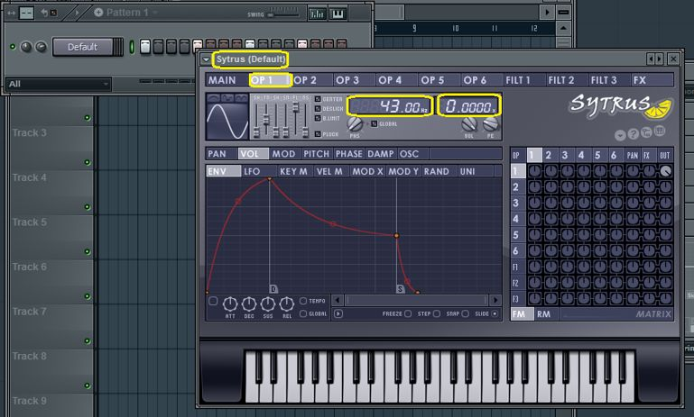 FL Studio Kick Drum Design