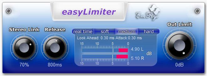 easyLimiter Free VST Plugin