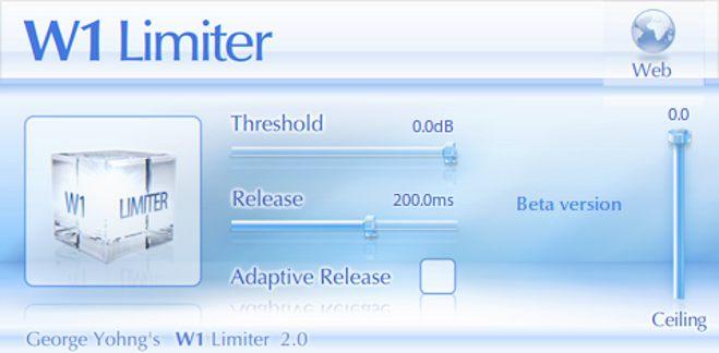 W1 Free VST Limiter