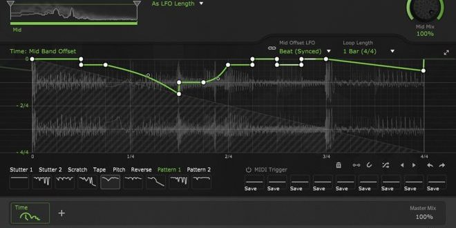 TimeShaper Effect VST/AU Plugin Released by CableGuys