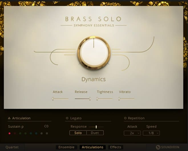 Brass Solo Virtual Instrument
