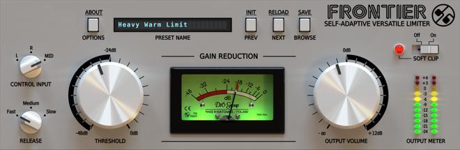 Frontier Free Limiter VST Plugin