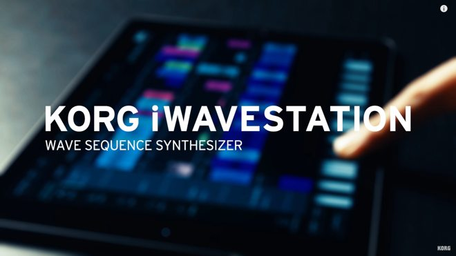 KORG iWavestation App for iOS