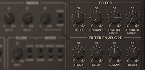 Repro-1 Synthesizer Filters