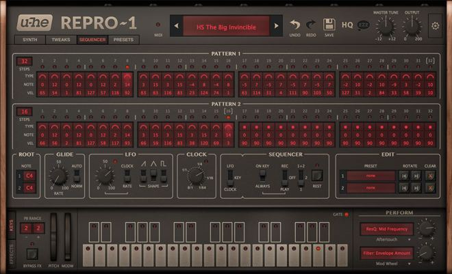 Repro-1 Synthesizer Sequencer