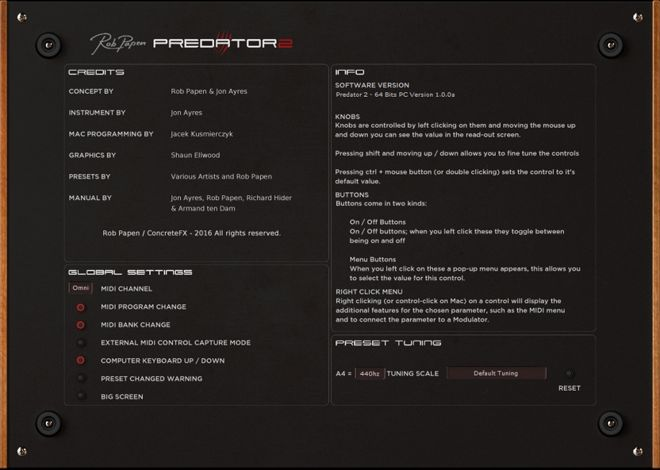 Predator 2 Back End