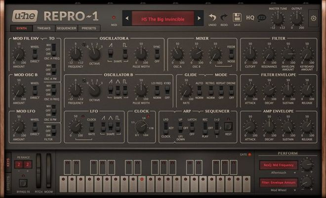 u-he Repro-1 synth vst plugin