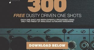 300 FREE Drum Samples Released by Touch Loops