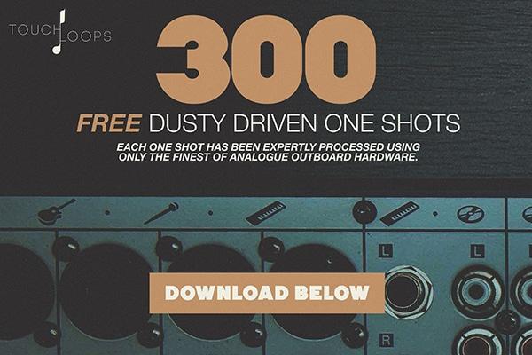 300 FREE Drum Samples