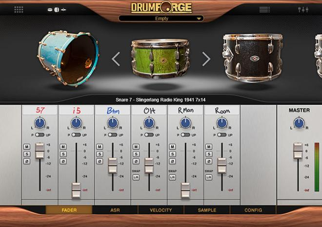 Drum Forge Kontakt Library