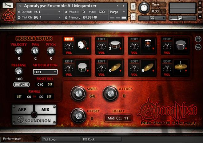 Apocalypse Percussion Kontakt Drums