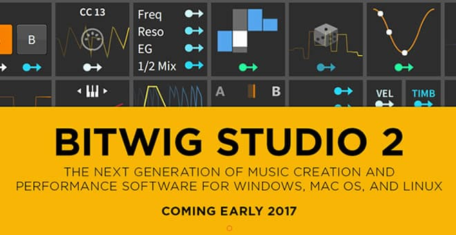 Bitwig Studio 2 Music Production Software
