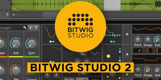 Bitwig Studio 2 DAW Announced by Bitwig