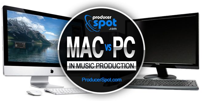 mac or pc for home recording studio