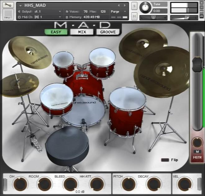 MAD Kontakt Drums
