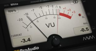 mvMeter FREE Metering VST Plugin by TBProAudio