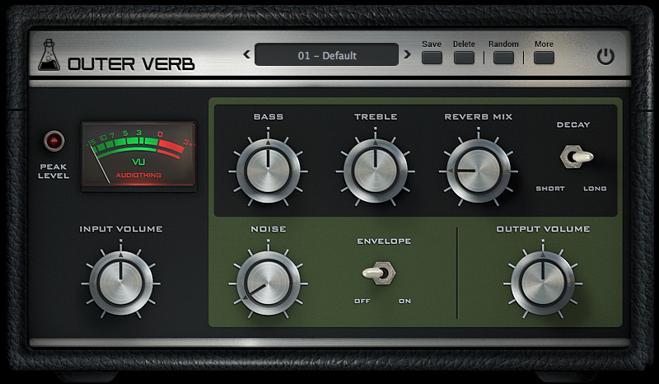 Outer Verb Reverb VST Plugin