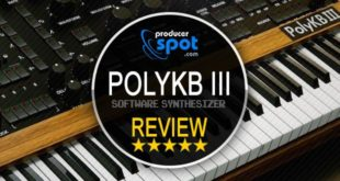 Review PolyKB III Synthesizer