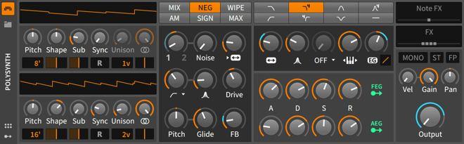 Polysynth Bitwig Studio Synthesizer