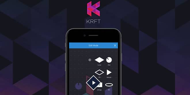 KRFT iOS Music App Released by Studio Amplify