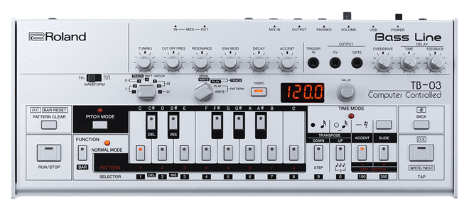 Roland TB-303 Bassline Synth