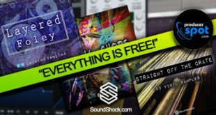 SoundShock Free Sample Packs
