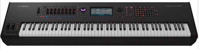 Yamaha Montage 8 synthesizer