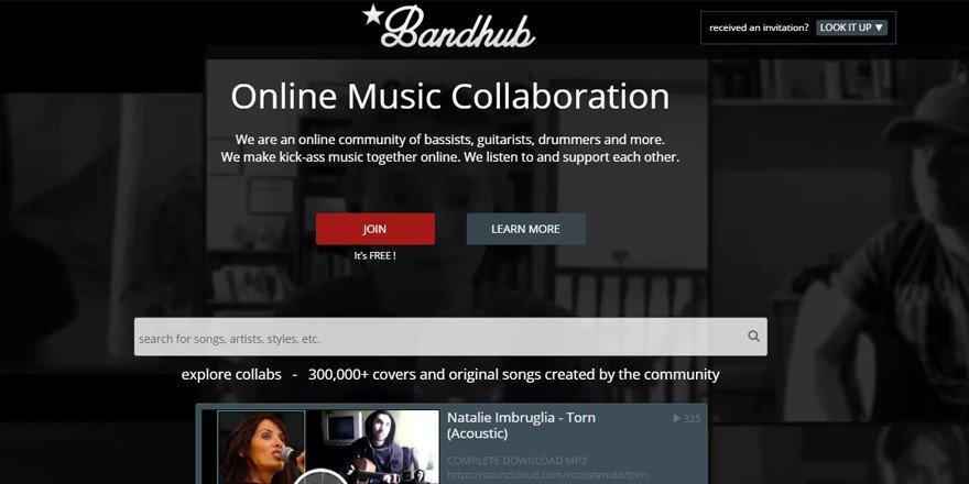 BandHub - Music Collaboration Website