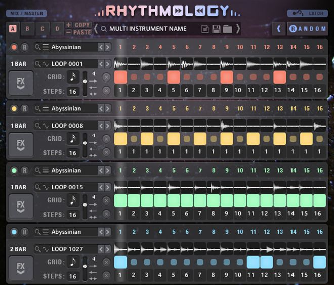 RHYTHMOLGOY Sample Logic